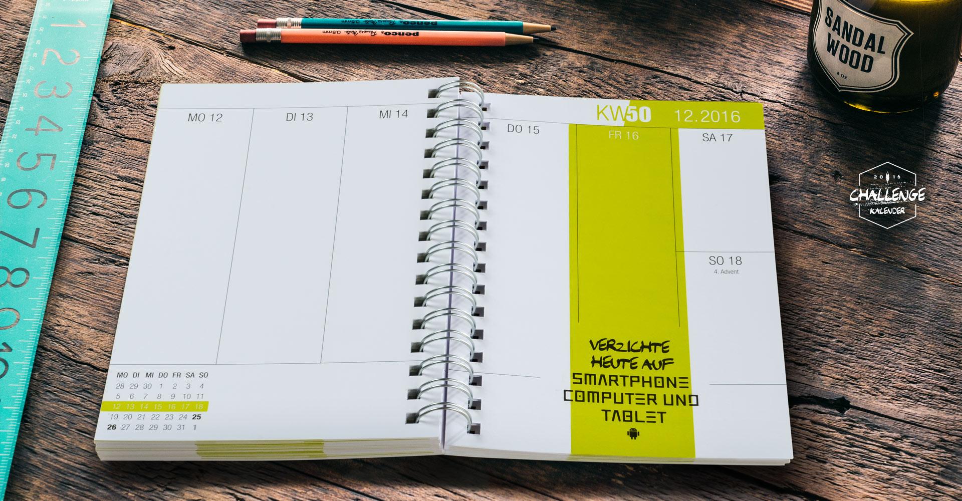 Start - Challenge Kalender